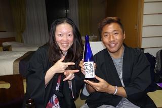 13 いいお酒とカニで幸せいっぱい.JPG