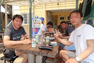 9運動の後はビール (2).JPG