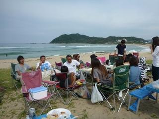 P1010912海を見ながら贅沢な時間.JPG